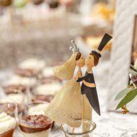 מתוקים לחתונה - חתן כלה